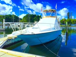 1988 Stevens Cruiser Yacht 46' Sports Fish Yacht For Sale